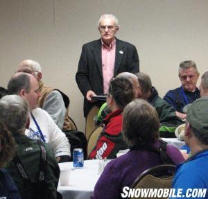 International Falls Mayor Bob Anderson