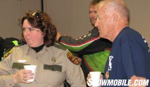 Veterans Ride Larry Shepherd and Shelly Patton