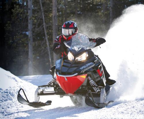 2013 Polaris 600 Indy SP Action Front