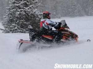 2013 Arctic Cat XF1100 Turbo Cross Tour Action