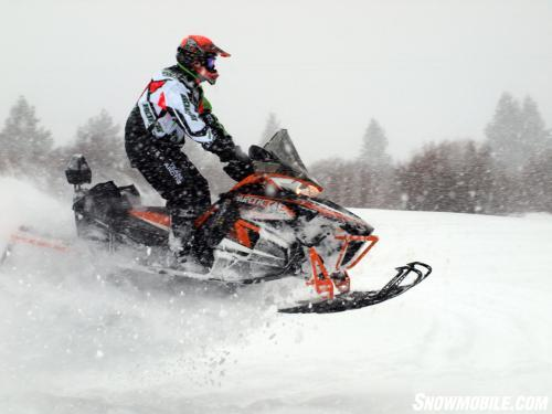 2013 Arctic Cat XF1100 Turbo Cross Tour Jumping