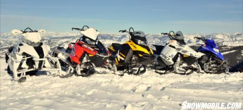 2013 Mountain Snowmobile Shootout