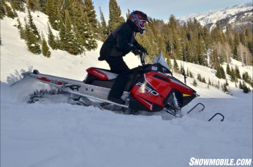 2013 Polaris Pro RMK 600 Action