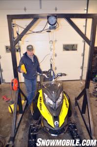 2013 Ski-Doo XM Summit Weight