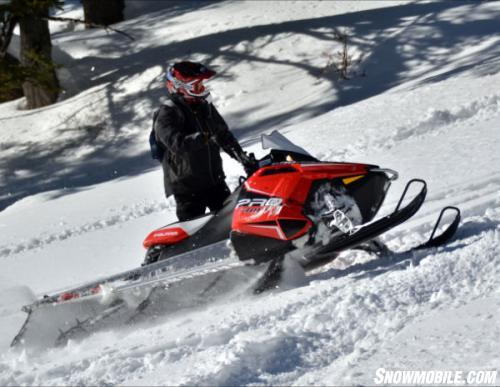 2013 Polaris Pro RMK 600 Action Sidehill