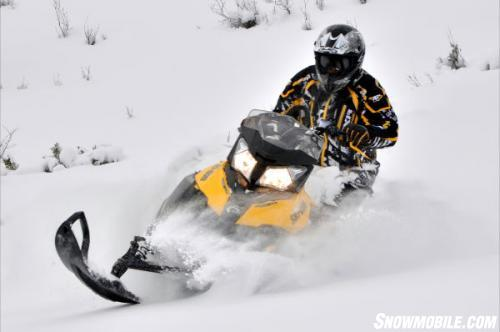 2013 Ski-Doo XM Summit Action