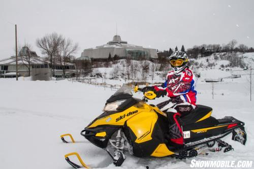 Snowmobiling Near Science North
