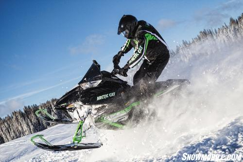 2014 Arctic Cat El Tigre Jumping