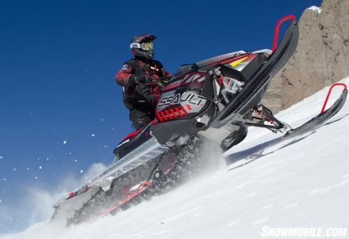 2014 Polairs 800 RMK Assault 155 LE