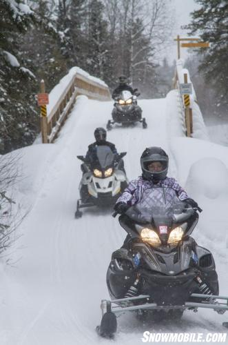 OFSC Snowmobile Bridge