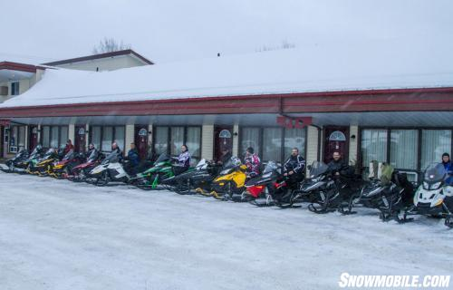 Snowmobile Touring in Ontario