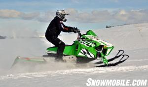 Arctic Cat M1100 Turbo HCR Action Left