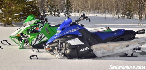 Arctic Cat M1100 Turbo HCR and Yamaha Nytro MTX Turbo