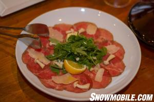 JW Marriott Teca Carpaccio