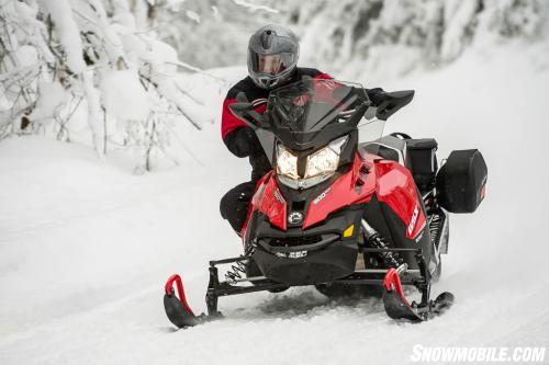 2014 Ski-Doo GSX LE 900 ACE Cornering