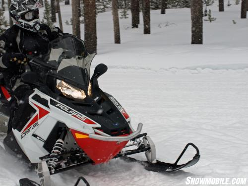 2014 Polaris 550 Indy Adventure Action Front