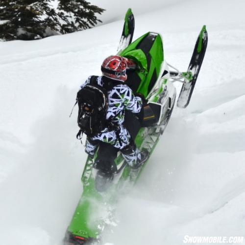 believe that the most improved mountain snowmobile for model year 2014