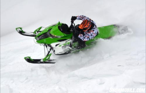 2014 Arctic Cat M8000 Sno Pro Action Left