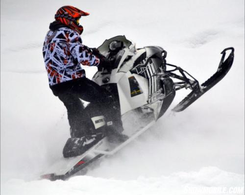 2014 Arctic Cat M8000 Sno Pro LE Action Right
