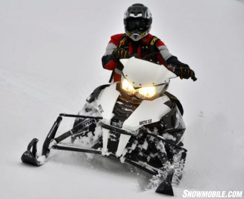 2014 Arctic Cat XF 7000 Cross Country Sno Pro Action Front