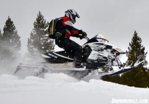 2014 Arctic Cat XF 7000 Cross Country Sno Pro Action Jump