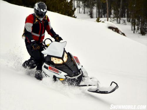 2014 Polaris 600 Pro RMK Action