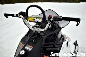 2014 Polaris 600 Pro RMK Cockpit