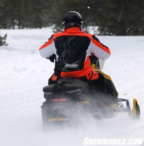 2014 Ski-Doo MXZ TNT ACE 900 Action Rear