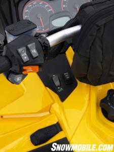 2014 Ski-Doo MXZ TNT ACE 900 Mode Switch