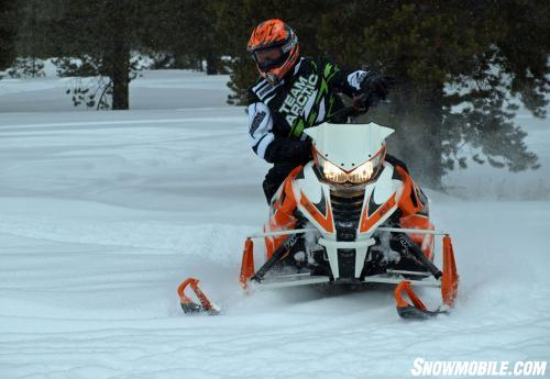 2014 Arctic Cat ZR 7000 Action Front