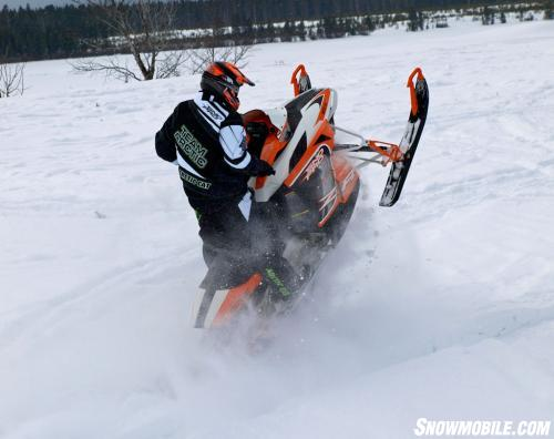 2014 Arctic Cat ZR 7000 Action Jump