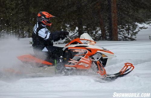 2014 Arctic Cat ZR 7000 Action Side