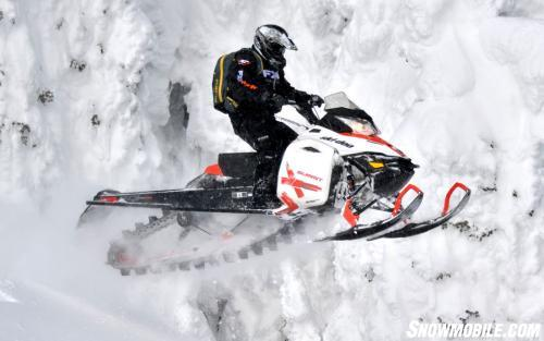 2014 Ski-Doo Summit X Action Jump