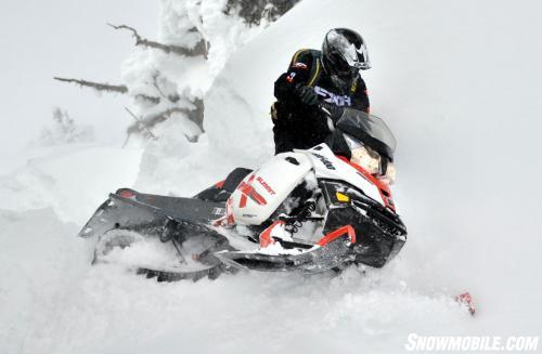 2014 Ski-Doo Summit X Action Sidehill