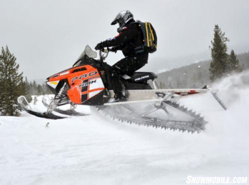 2014 Polaris 800 Pro-RMK Action Jump