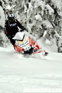 2014 Polaris 800 Pro-RMK Action Head On