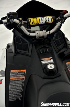 Pro Taper Handlebars >> 2014 Polaris Switchback Assault Review - Video - Snowmobile.com