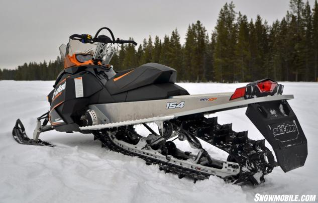2014 Ski-Doo Summit Sport 800R Rear