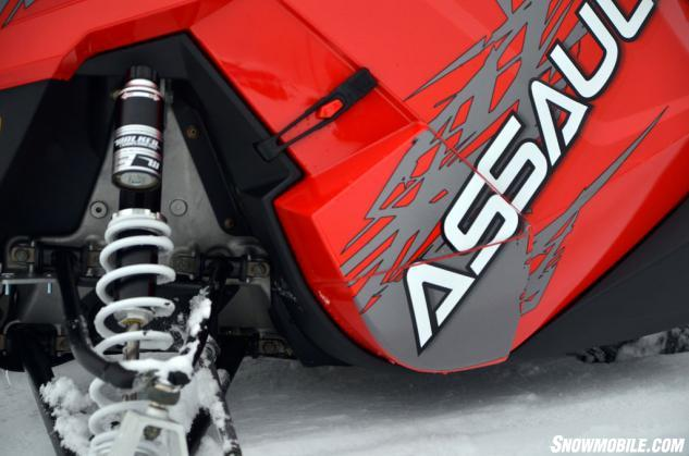 2014 Polaris 800 RMK Assault Walker Evans Shocks