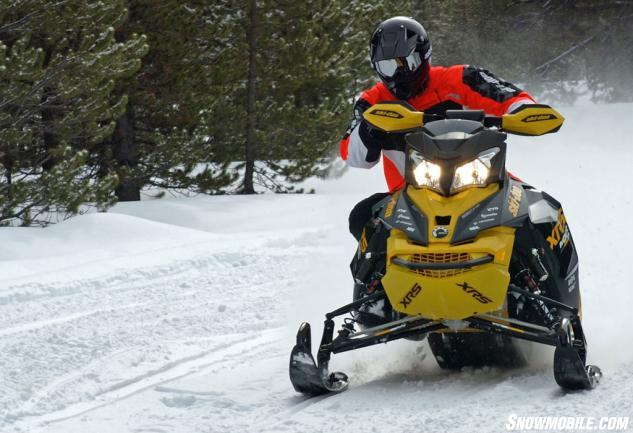 2014 Ski-Doo MXZ X-RS 800 Action Front