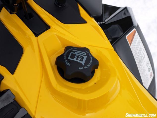 2014 Ski-Doo MXZ X-RS Gas Cap