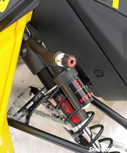 2014 Ski-Doo MXZ X-RS KYB Adjustable Clicker Shocks