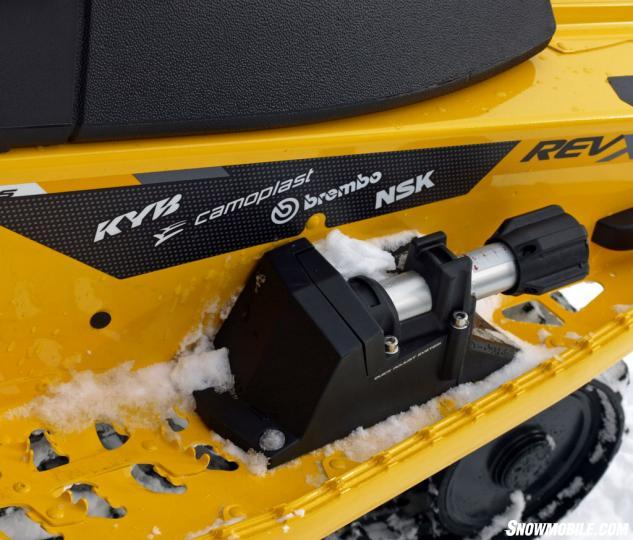 2014 Ski-Doo MXZ X-RS Quick Adjust rMotion