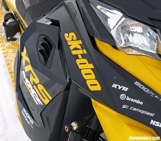 2014 Ski-Doo MXZ X-RS Styling