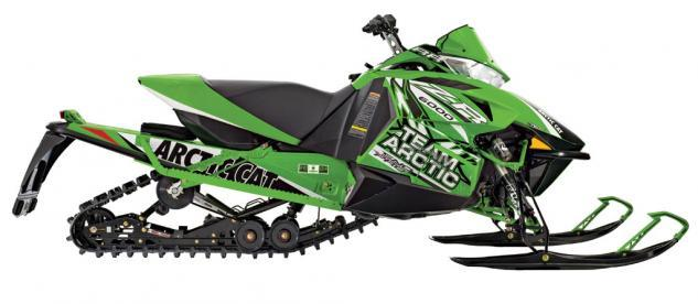 2014 Arctic Cat ZR 6000 RR Profile
