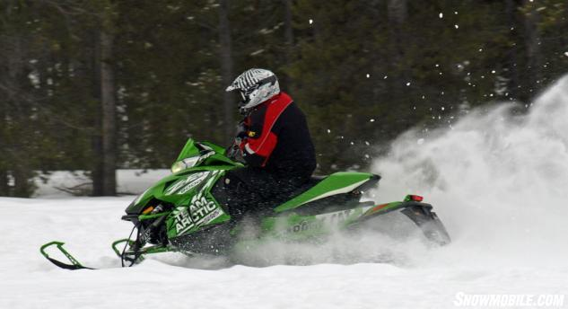 2014 Arctic Cat ZR 8000 RR Action Left