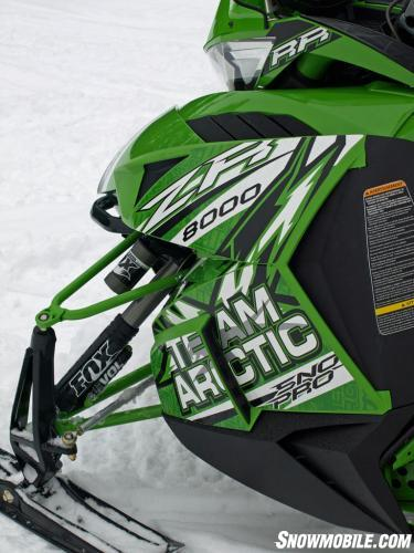 2014 Arctic Cat ZR 8000 RR Front Profile