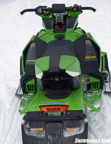 2014 Arctic Cat ZR 8000 RR Rear View