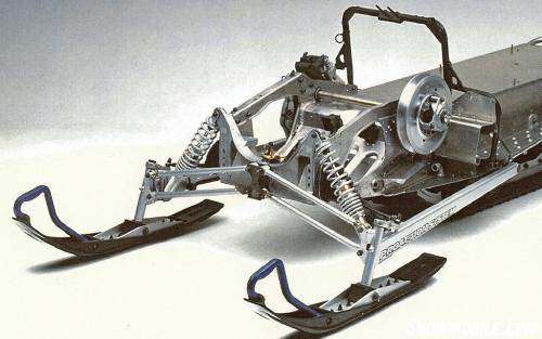2002 Yamaha SX Viper Chassis