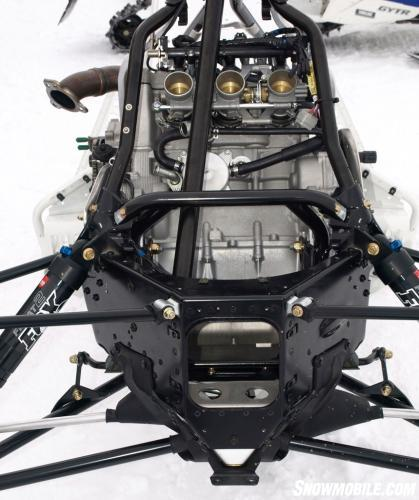 2014 Yamaha Viper Engine Chassis